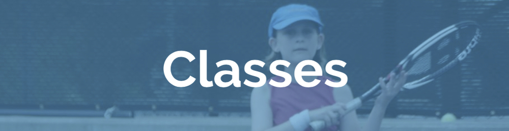 We offer tennis classes for junior Twin Cities players of all ages and abilities.