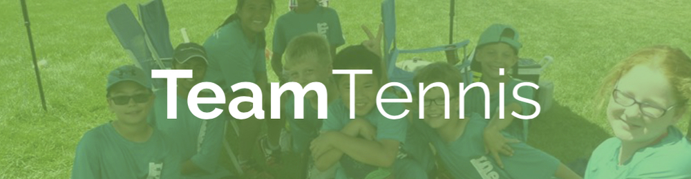 Junior team tennis participants compete against other Twin Cities tennis teams all summer long.