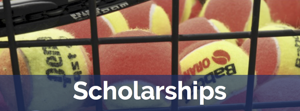 We offer scholarships to youth who might not otherwise be able to participate in our Twin Cities junior tennis programs.