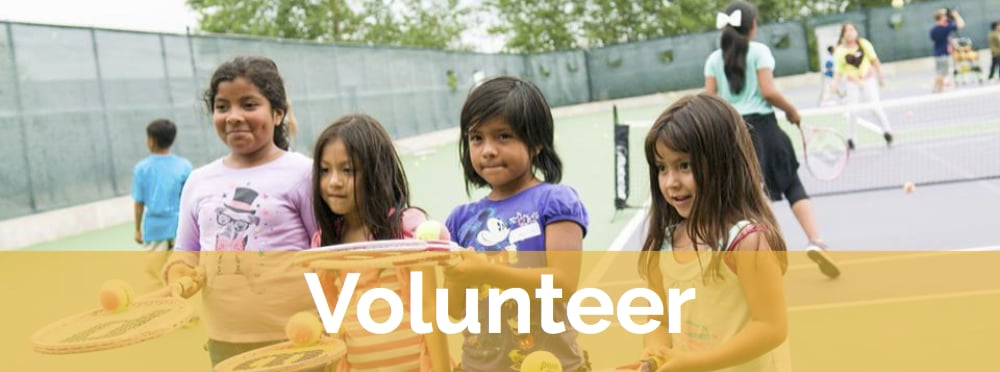 We rely on the help of generous volunteers to run our tennis & education programs for low-income Twin Cities youth.