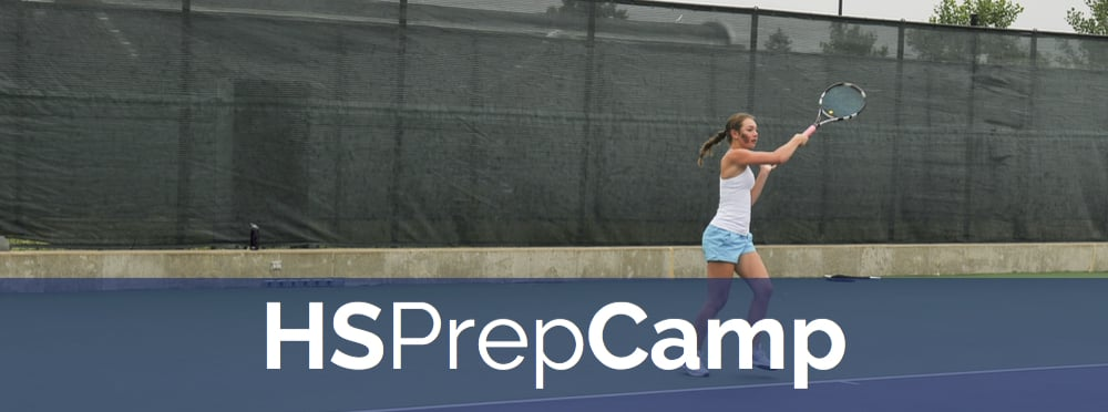 Sign up for our high school tennis prep camp to get ready for the high school tennis season!