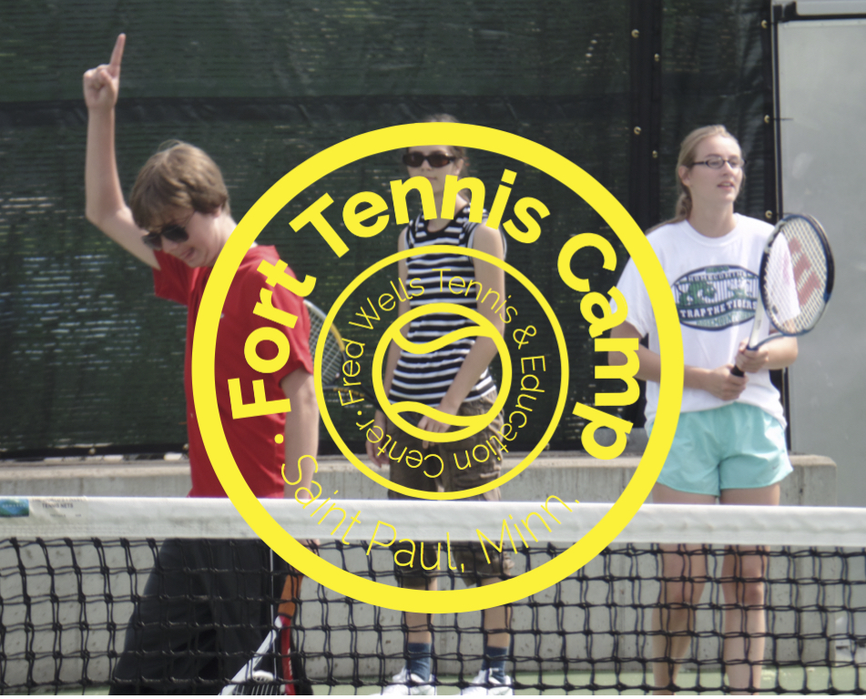 Participants in our summer camp take to the courts every day for tennis instruction, fitness activities, life-skills education and tons of games led by a team of experienced and energetic tennis instructors and camp counselors!