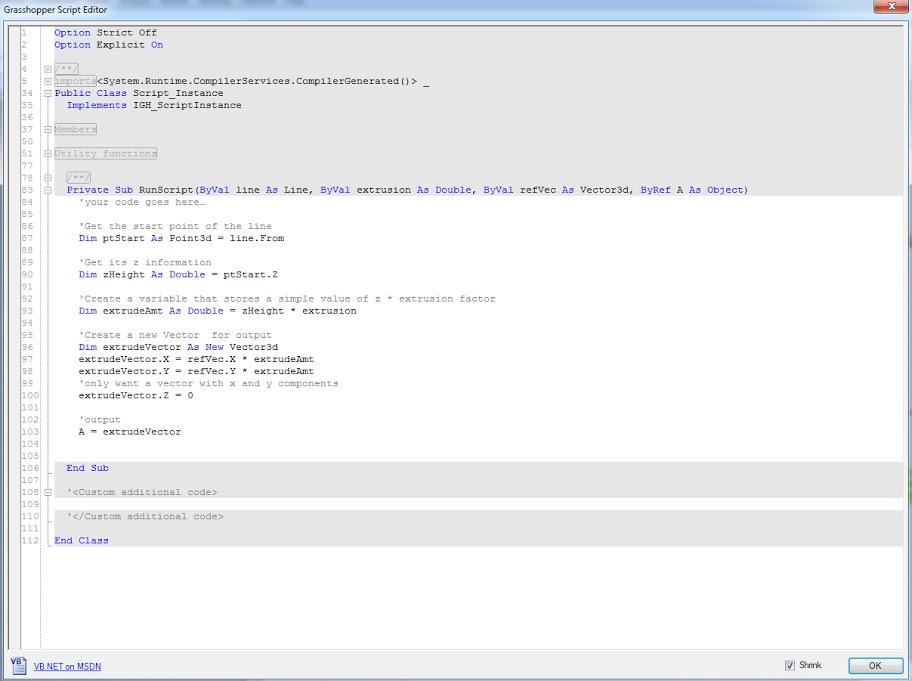VB scripting component