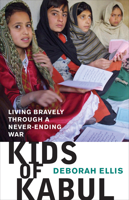 Kids of Kabul Joint winner of the South Asia Book Award, longlisted for the Children's Literature Roundtables of Canada Information Book Award, selected for the IRA Notable Books for a Global Society List, the Bank Street College of Education's Best Children's Books of the Year, the USBBY Outstanding International Books List, and the CCBC Choices List.