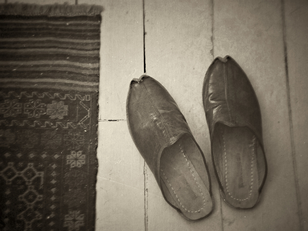 My turkish slippers