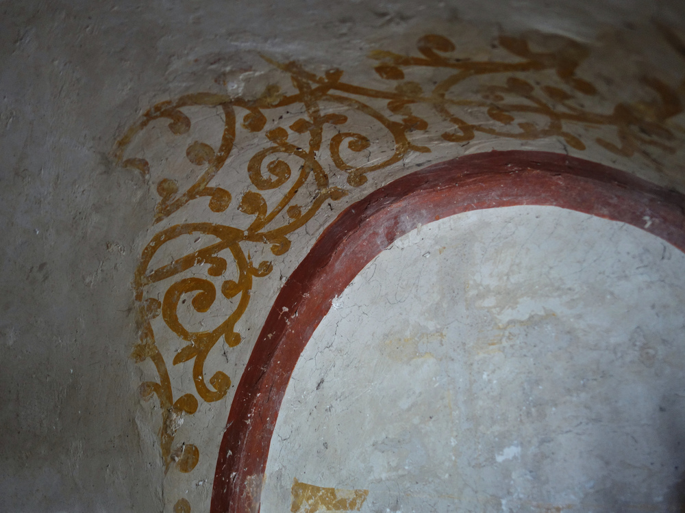 Byzantine wall decoration in the Kariye Müzesi