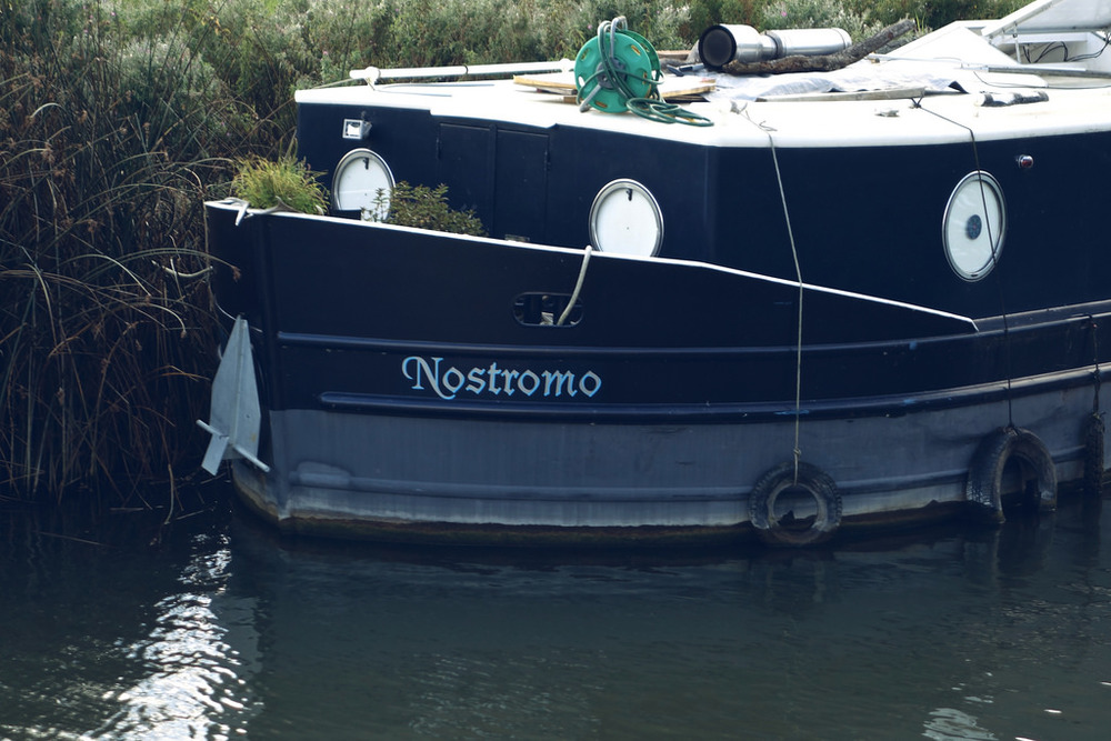 I love ships called 'Nostromo'