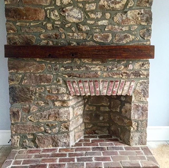 Historically, Fireplaces have always been sign of royalty. We did restorations on a historical bucks county farm house built in the 1800's that had over 6 fireplaces! One in each bedroom. Wonder who lived there at one point? 🤔