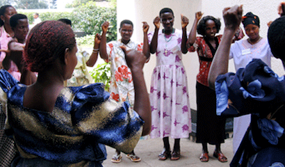 women in Uganda share stories of overcoming obstetric fistula