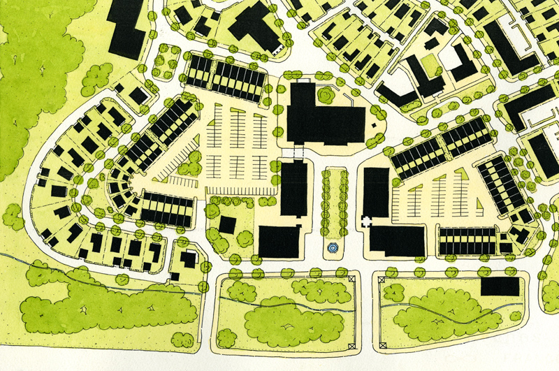 Vickery Neighborhood Center Detail Plan