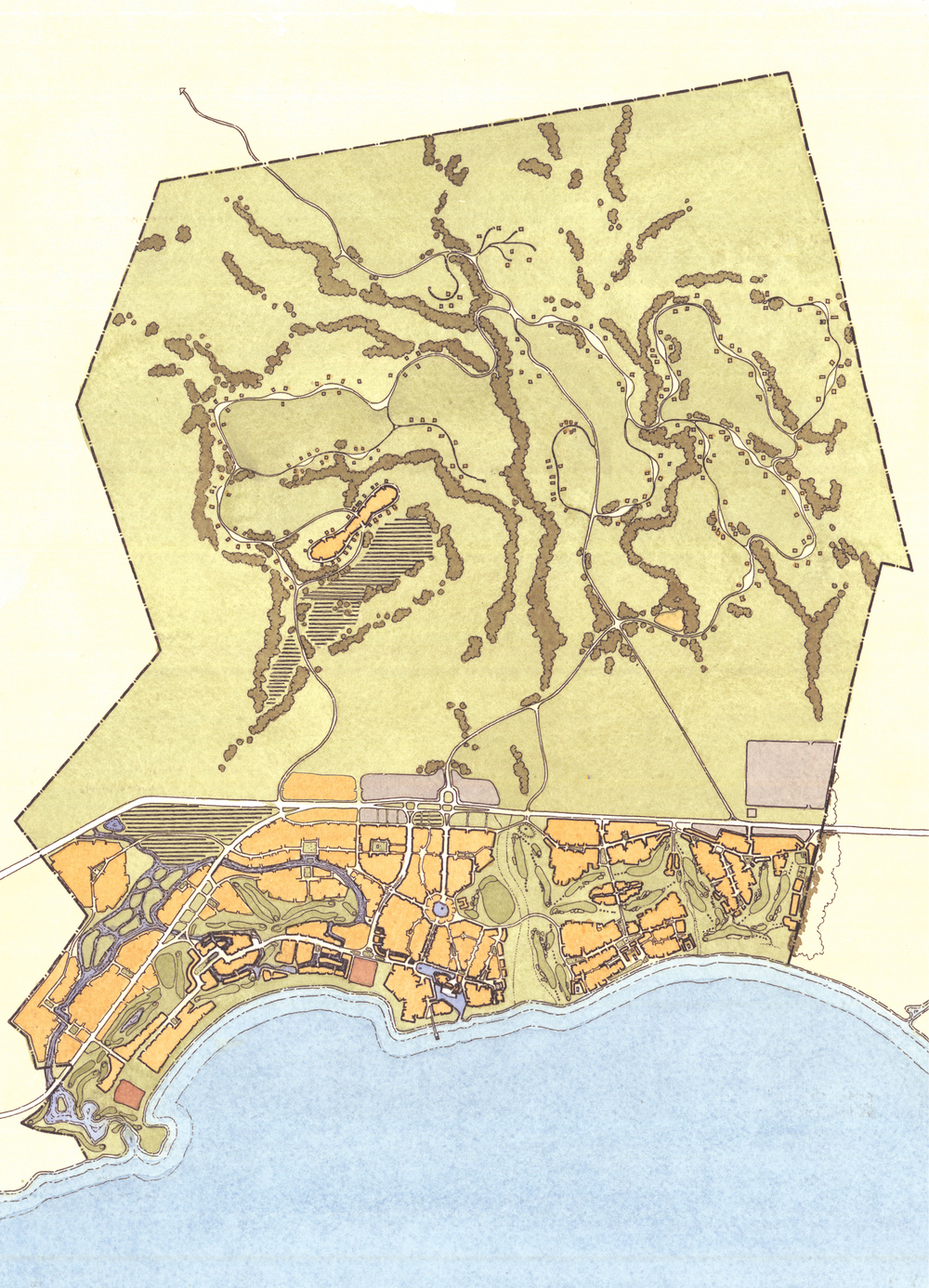 Loreto Bay masterplan