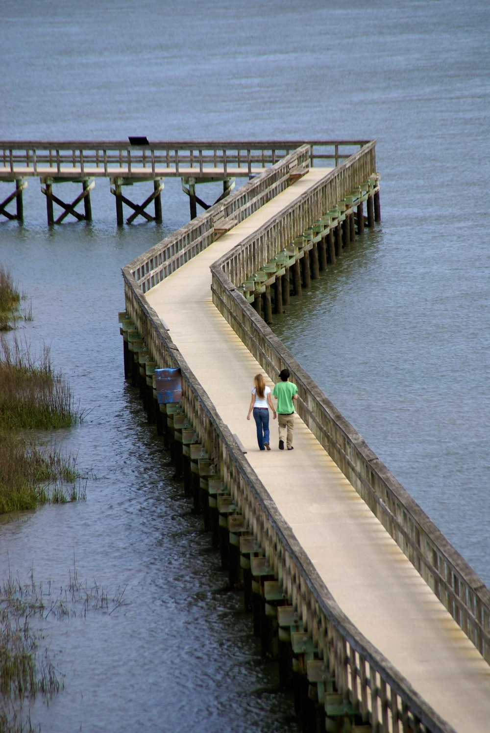 The boardwalk at The Sands in Port Royal offers access to the markslands and waterways that make the Sea Islands so unique.