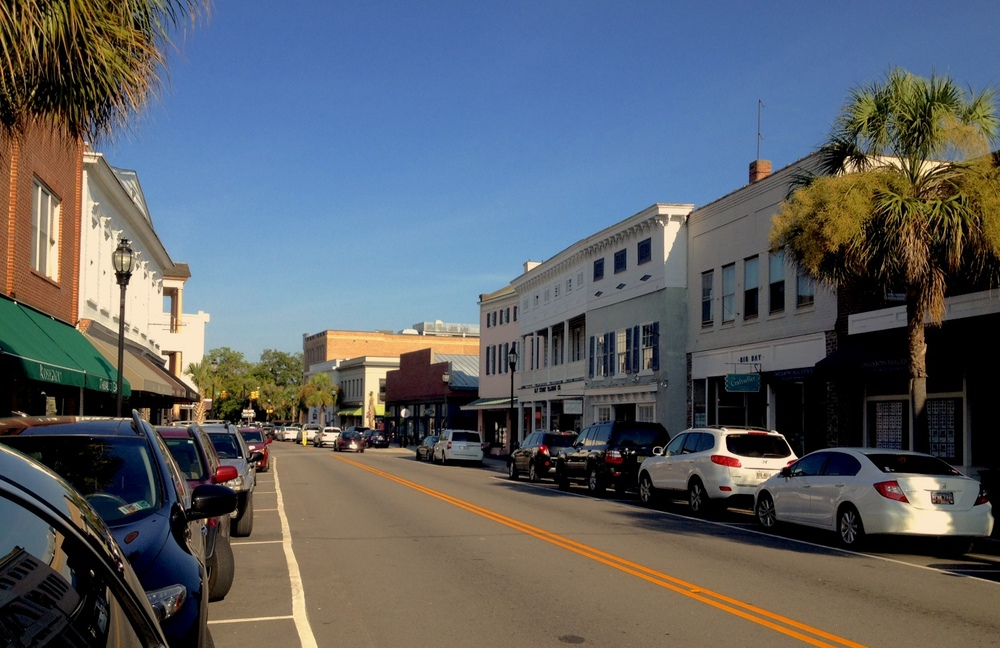 Bay Street in Beaufort SC