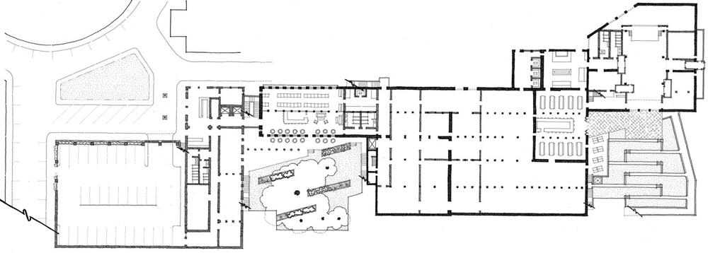 Chronicle Mill proposed basement floorplan