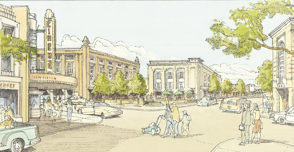 Village of Providence Town Center Rendering