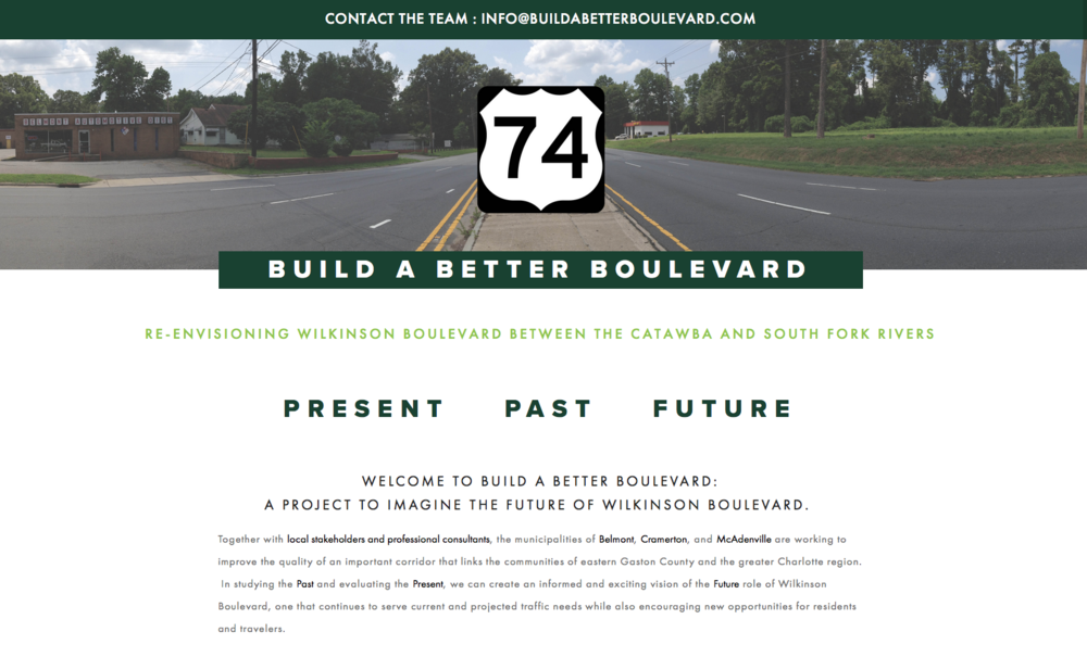 Build a Better Boulevard website