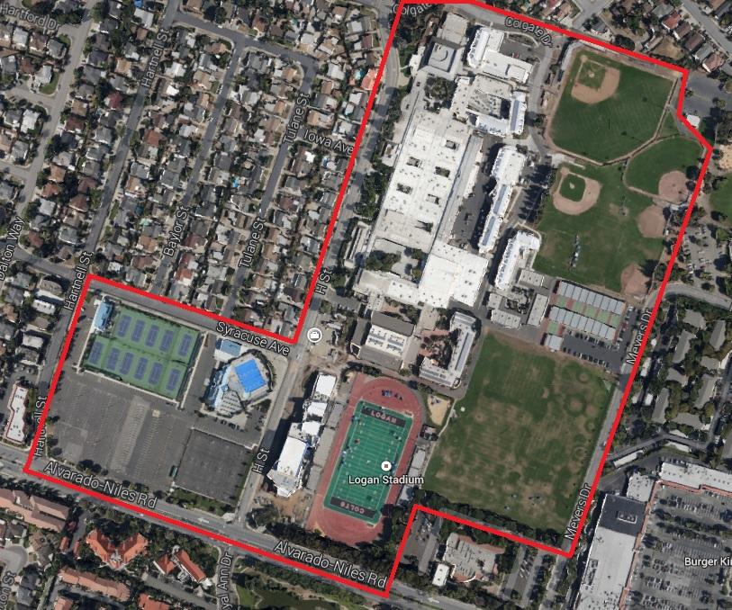 John A Logan Campus Map.Maps Directions James Logan High School