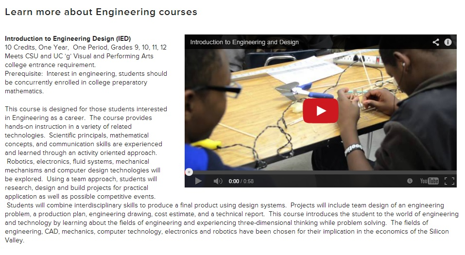 Learn about Logan's engineering pathway!