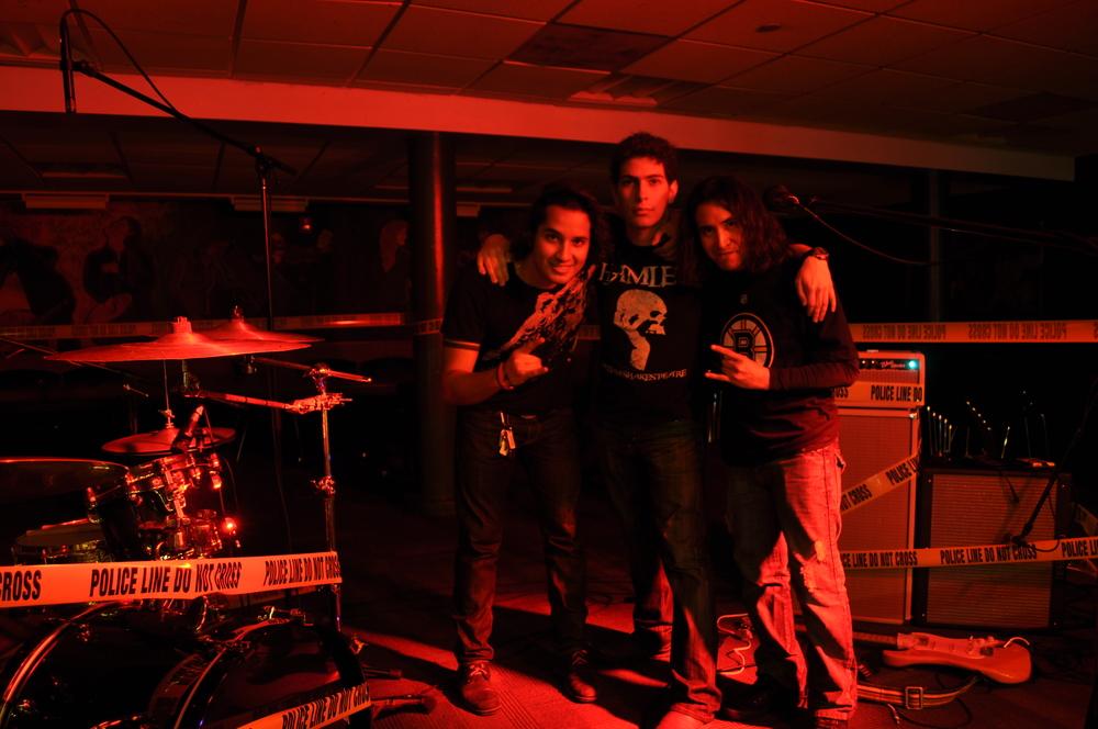 Adolfo Torres, Juan Jaramillo and Miguel Arroyo.