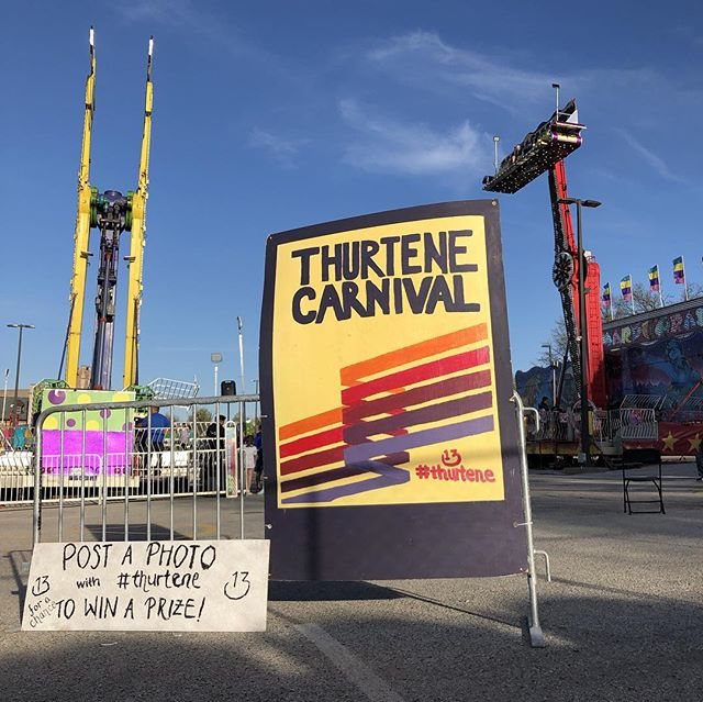 Come take a picture at our photo board and post with #thurtene to be entered in our giveaway for 10 VIP tickets, 2 Maison (314) necklaces, 4 water bottles, and more! Winner will be chosen at noon tomorrow (4/13)! 📸🎡 #thurtene2019 #stl