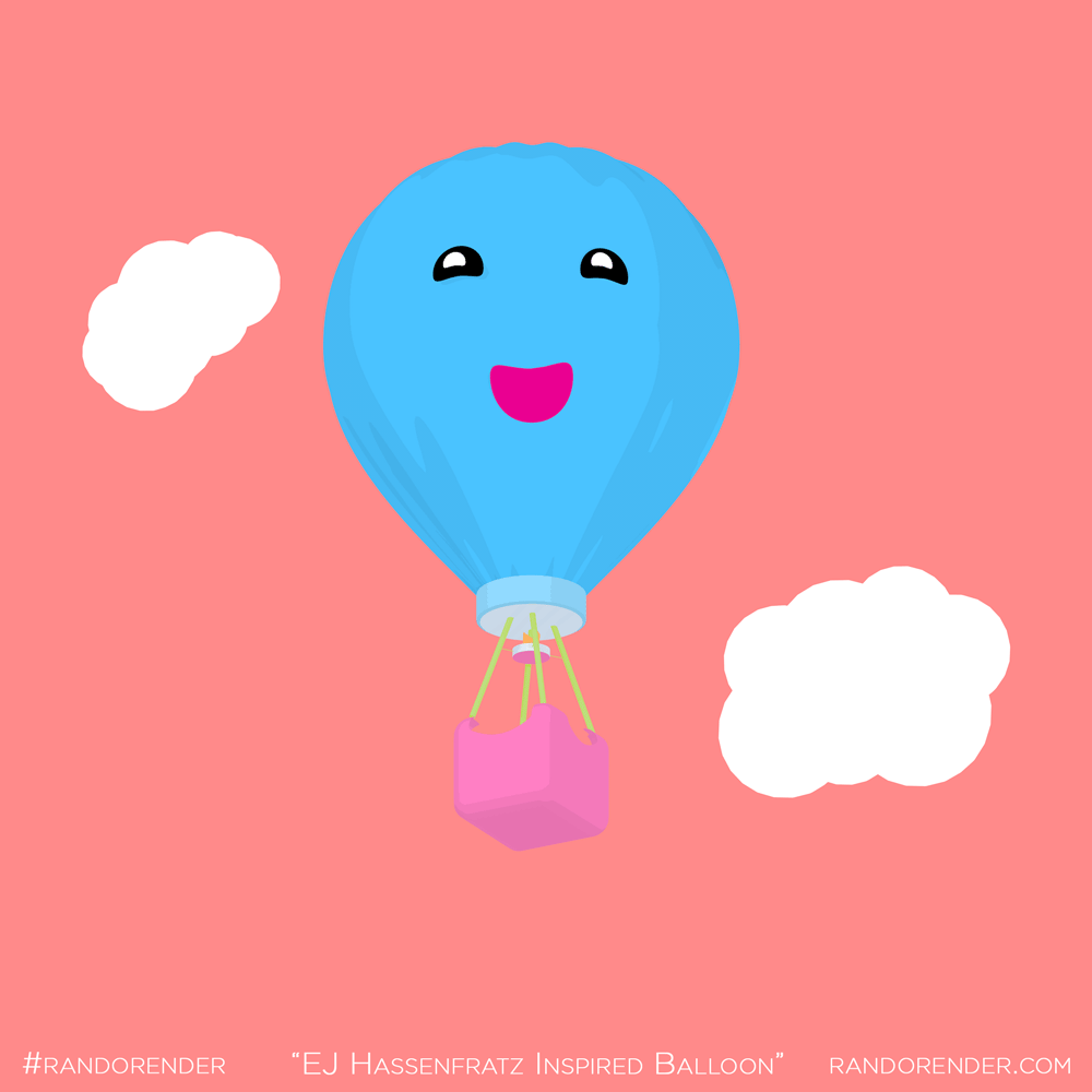 Ej Hassenfratz Inspired Balloon