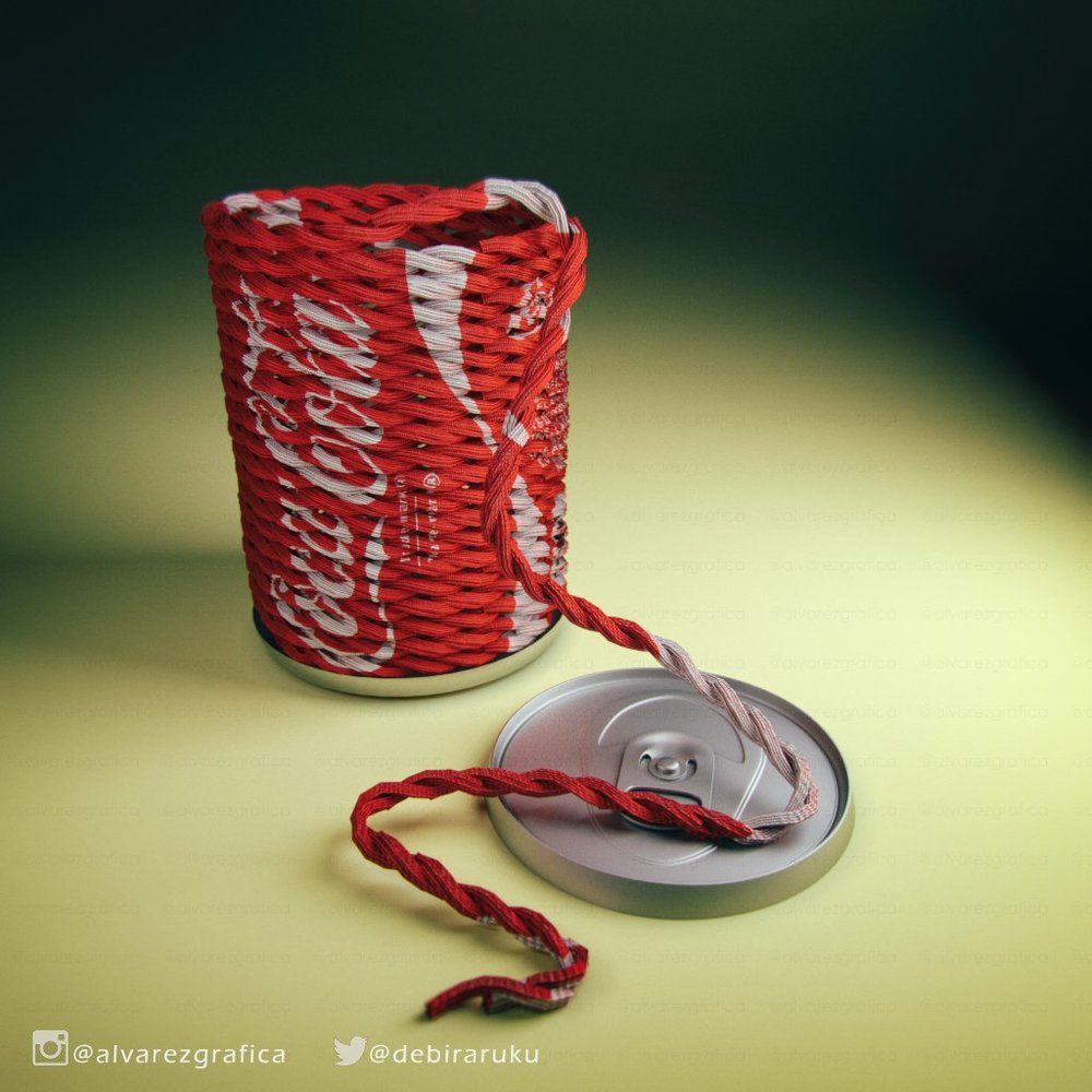 Coke Can Rope