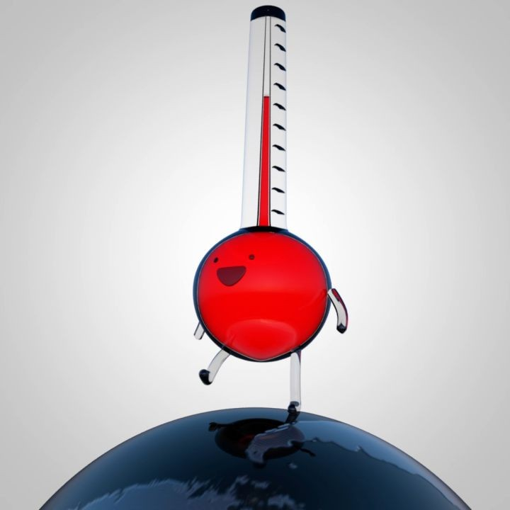 EJ Hassenfratz Inspired Thermometer