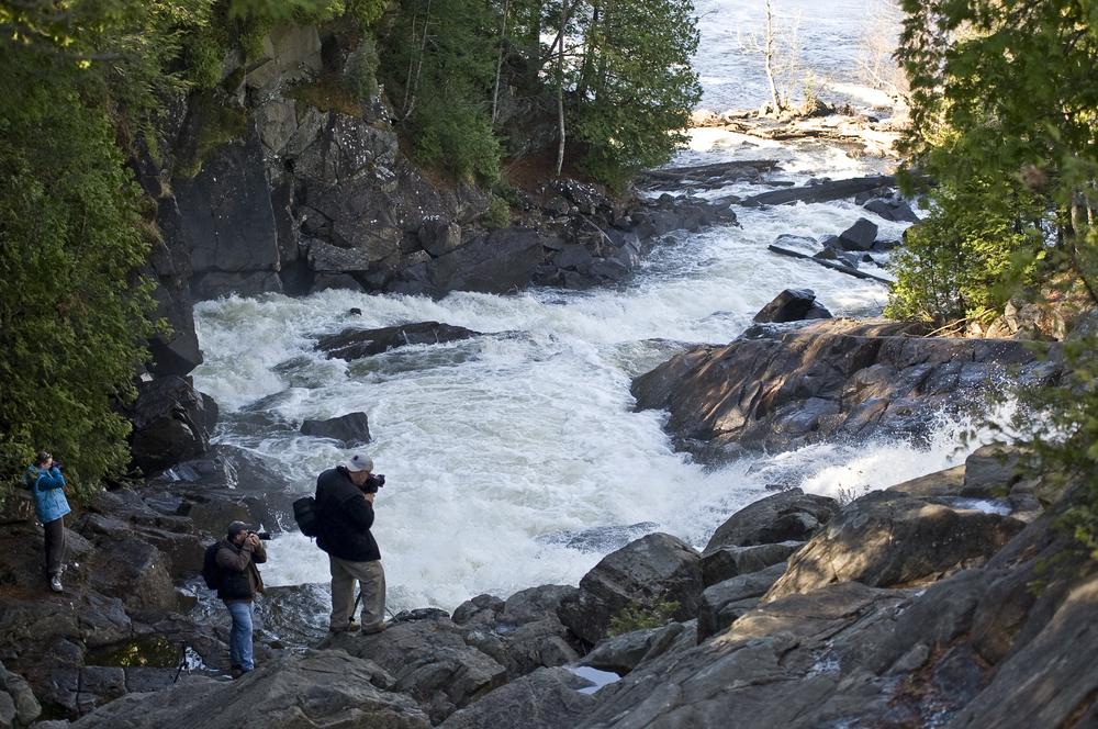 daytrippers at ragged falls.jpg