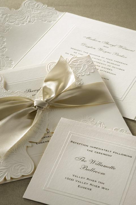wedding the league shop inc - Vera Wang Wedding Invitations