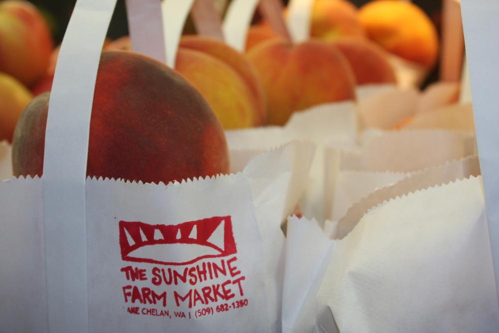 Peaches in Bags.JPG