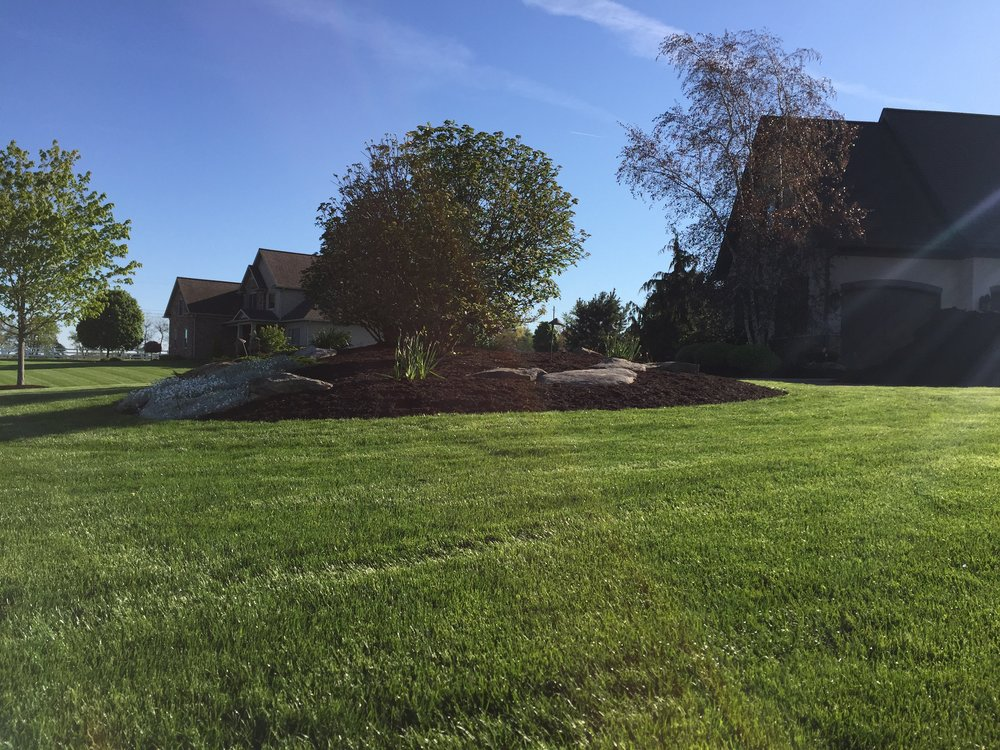 Landscape Mulch in Wooster Ohio.
