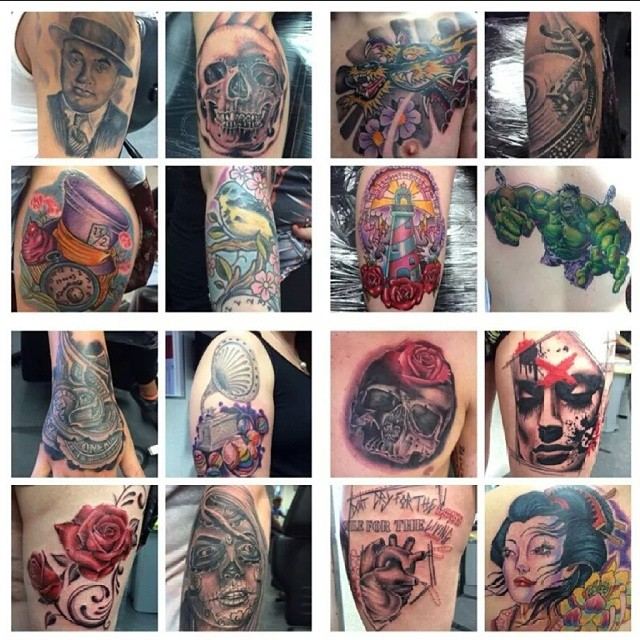 Andy has the sunday free at the @dundeetattooconvention available if intrested in getting tattooed at the show contact the shop