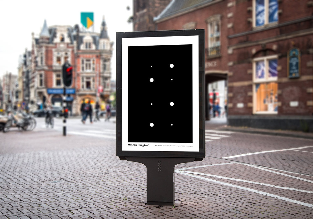 Graphic design street poster