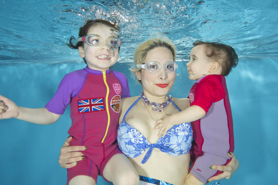 Underwater Family Portraits