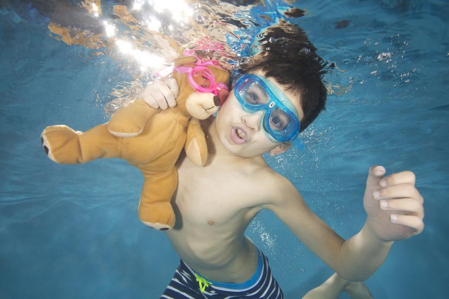 Children's Underwater Photography