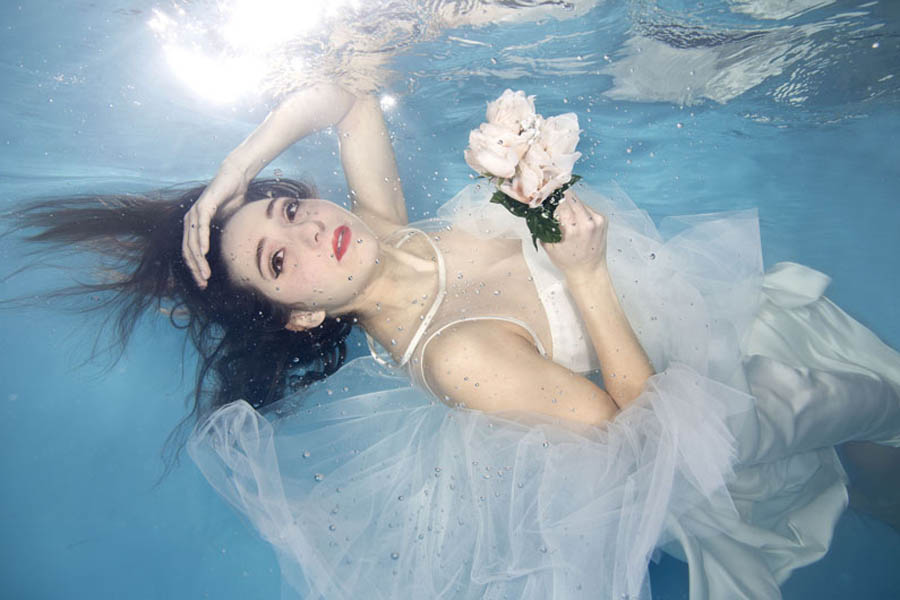 Underwater Wedding Photography