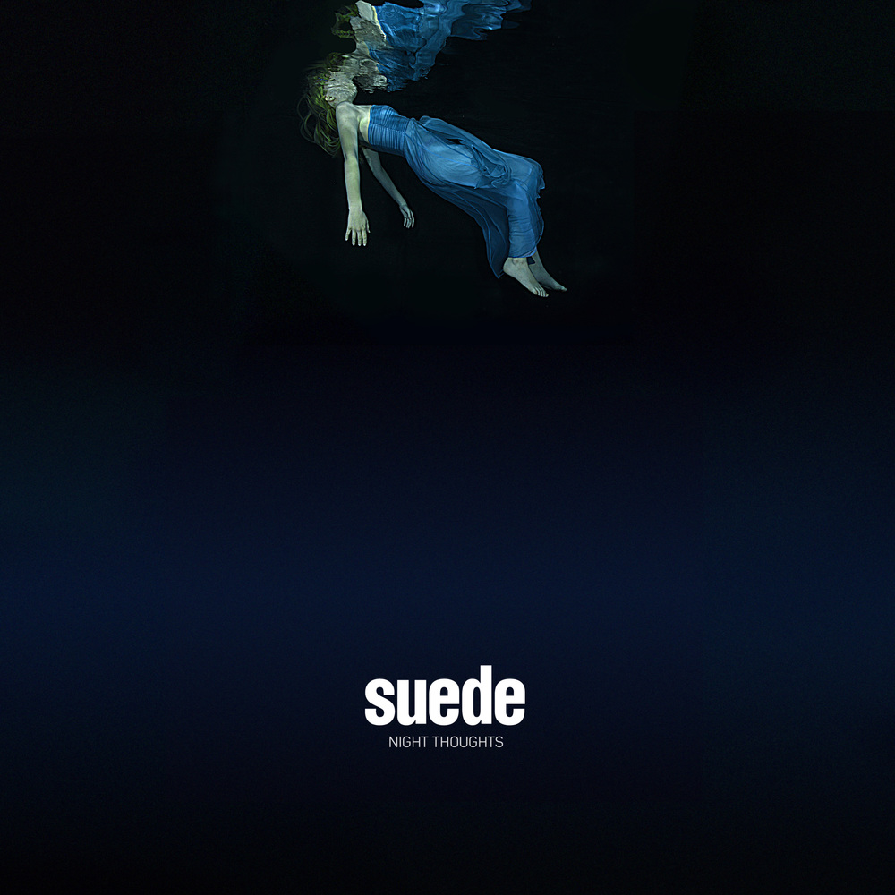 Suede's new album cover featuring underwater photography by Starfish Underwater Photography!