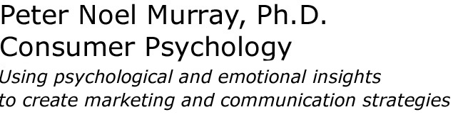 Peter Noel Murray, Ph.D., Consumer Psychology