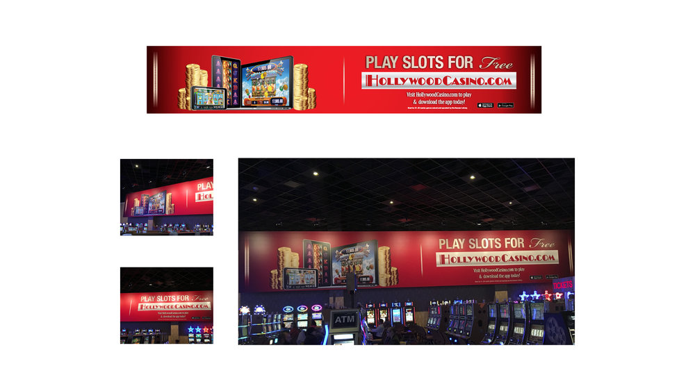 Hollywood Casino Online Billboard