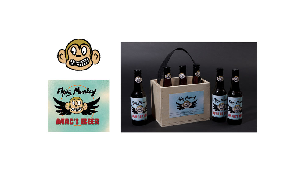 Flying Monkey Brand and Packaging