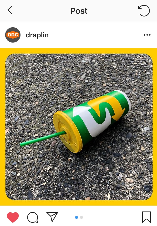 Draplin's Instagram Post