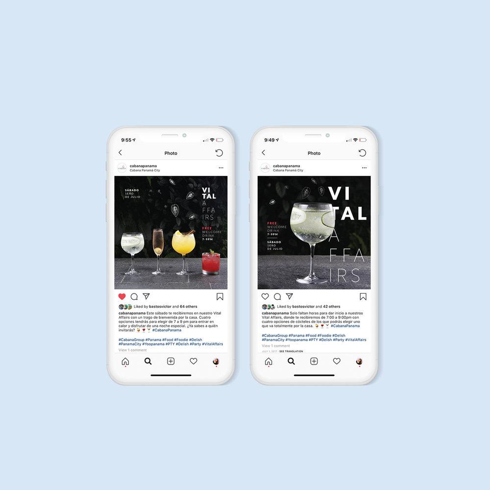 Cabana Restaurant Social Media Campaign