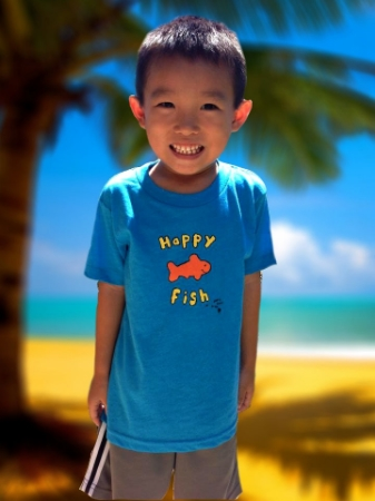 Kids Happy Fish TShirt