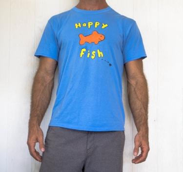 Mens Happy Fish TShirt
