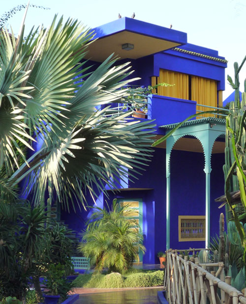 Blue Workshop at Majorelle Gardens