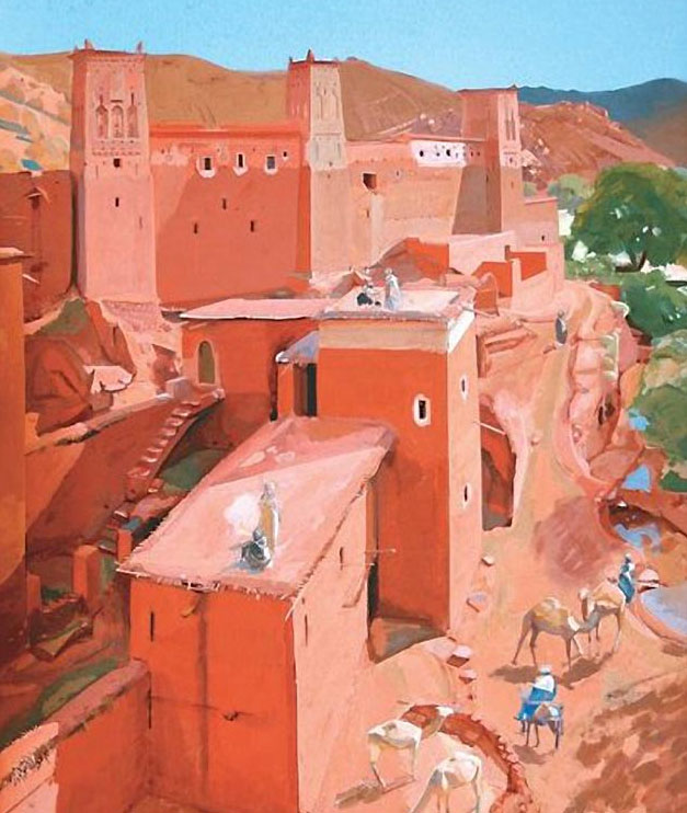The Casbah by Jacques Majorelle