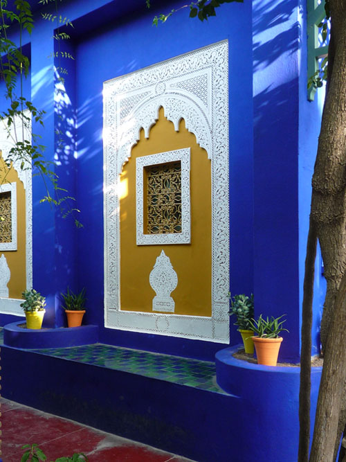 Window at Majorelle Gardens
