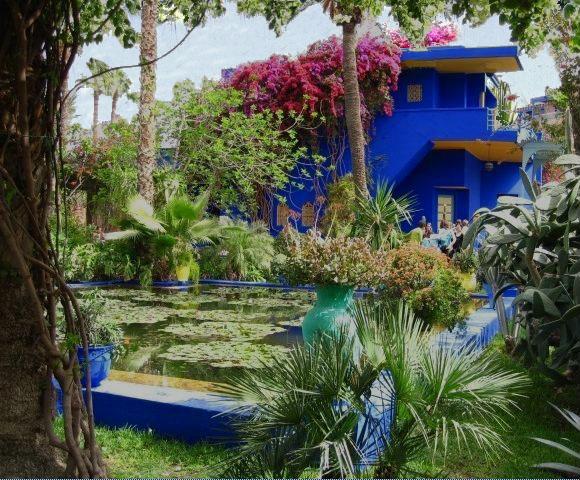 Gardens at Majorelle