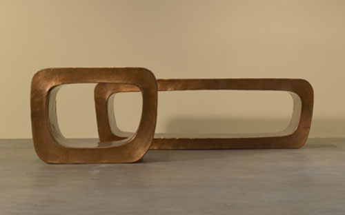 O Table and Bench by Robert Kuo
