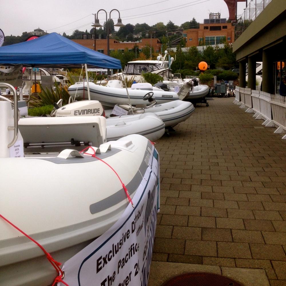 Our Novuranias on display at South Lake Union, Seattle